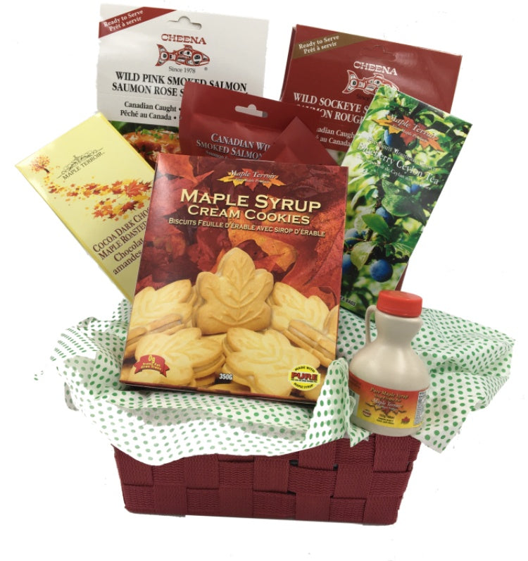 Oh, Canada Gift Basket Cheena Maple Terroir