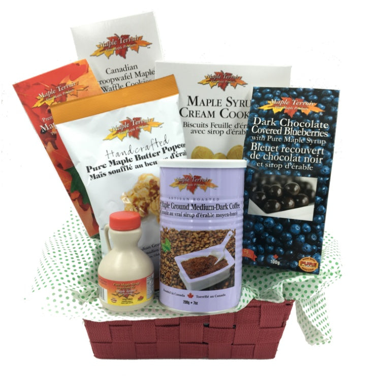 taste of maple gift basket maple terroir maple products