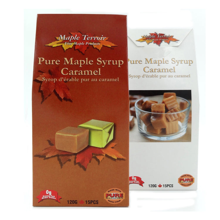 Pure Maple Syrup Caramel 120g