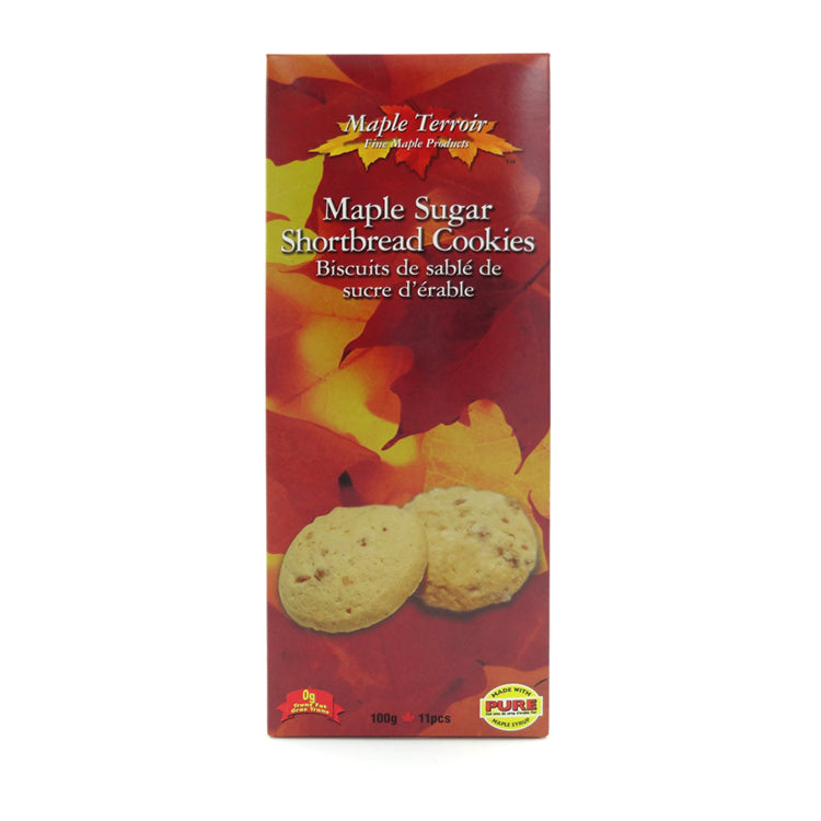 Maple Sugar Shortbread Cookies 100g
