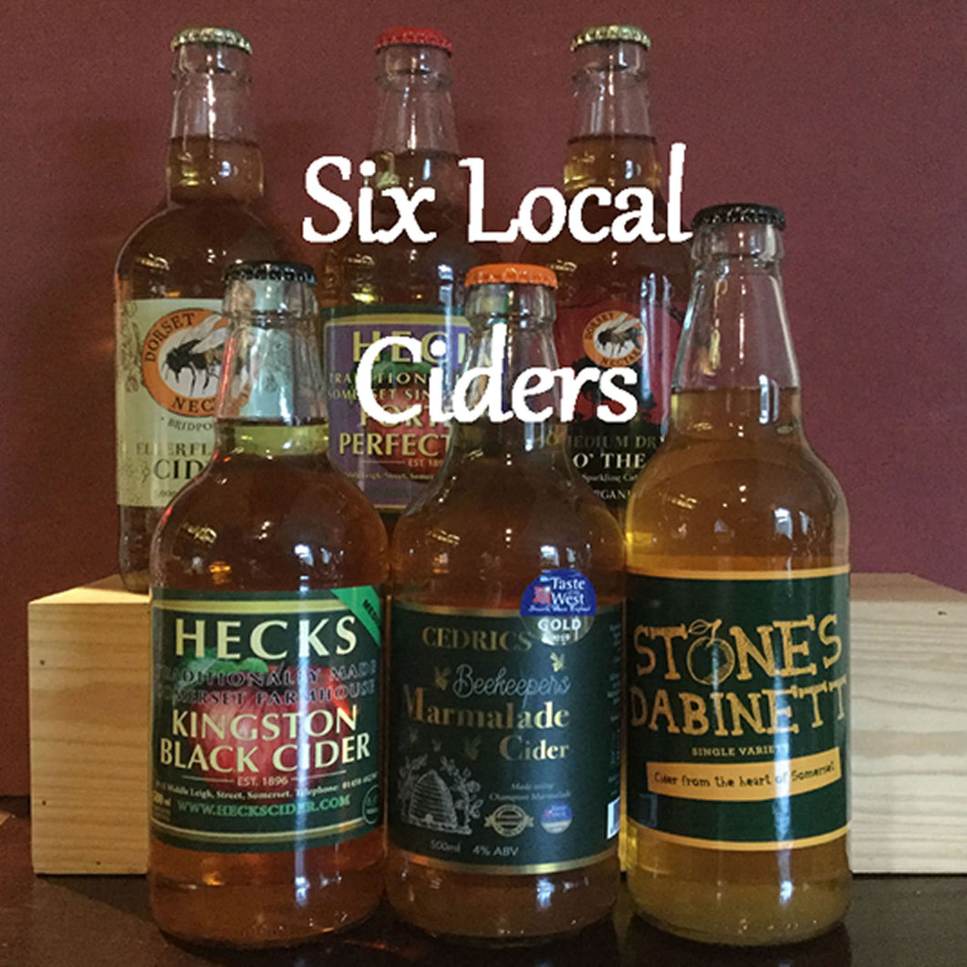 12 Bottles of local Cider