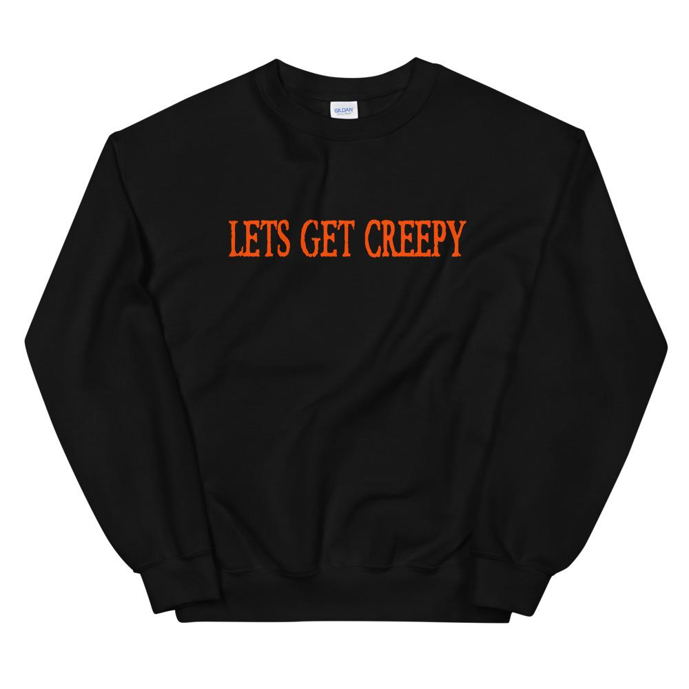 LETS GET CREEPY SWEATER - HalloweenMugs.com