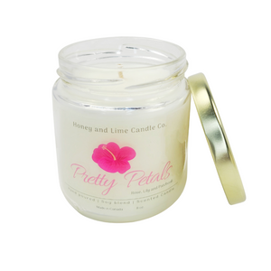Pretty Petals scented candle