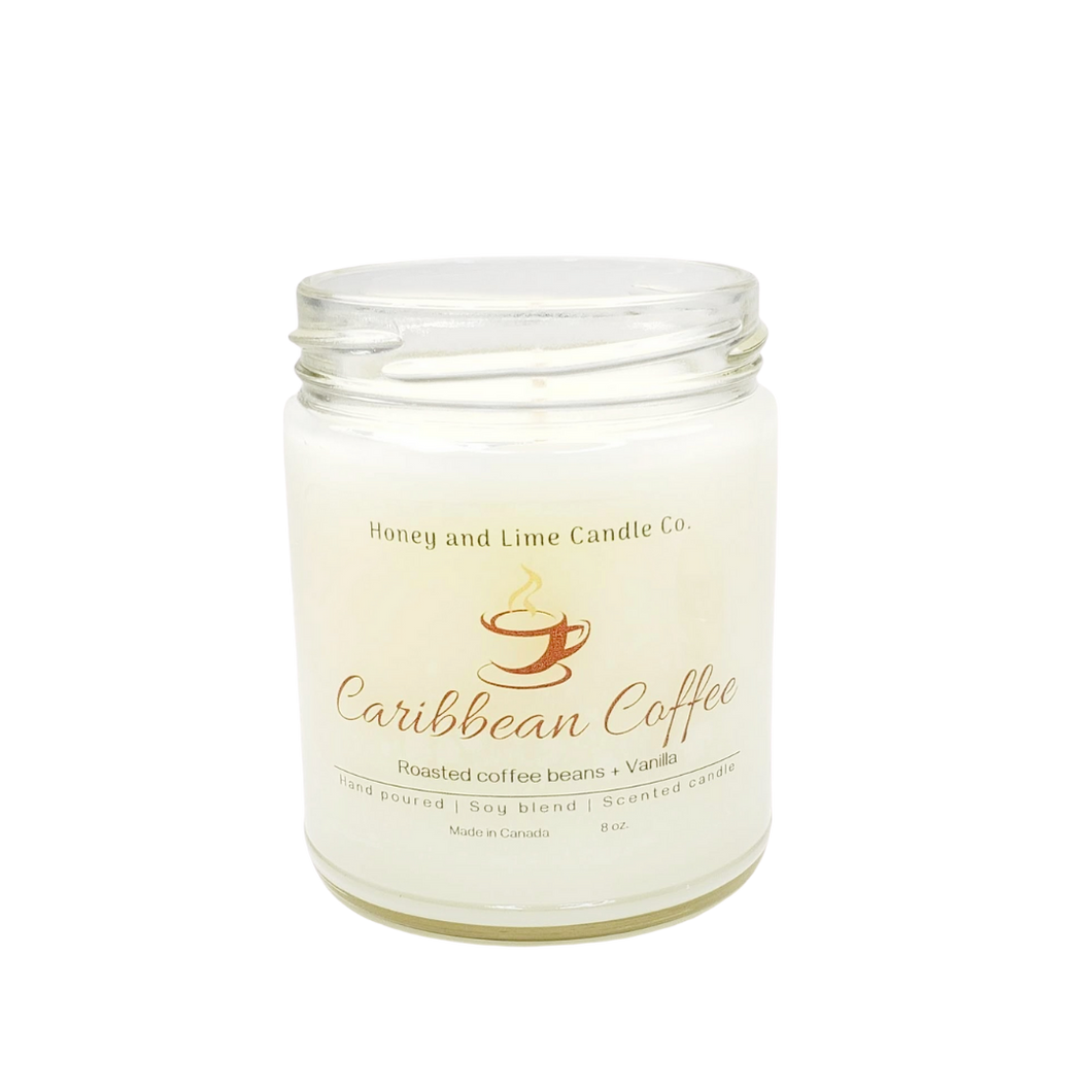 Caribbean Coffee scented candle