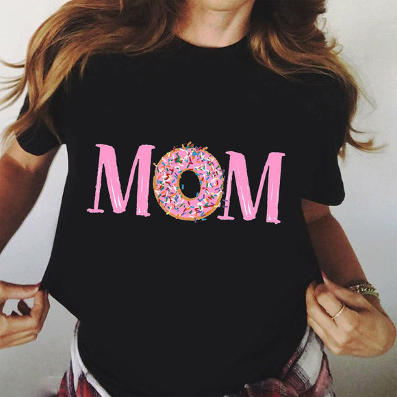 T-shirt pour femme MOM Graphic Donuts