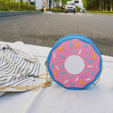 Sac donuts tridimensionnels style sac messager