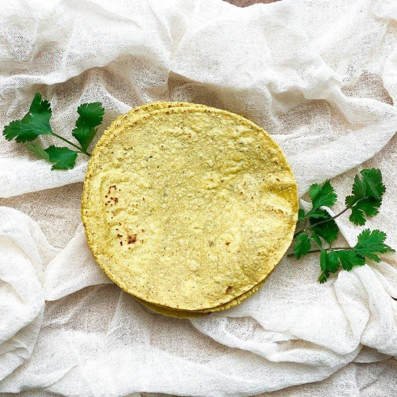Yellow Bolita Tortilla