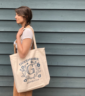 Load image into Gallery viewer, Goodmore Kombucha Tote Bag 2