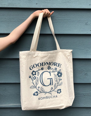 Load image into Gallery viewer, Goodmore Kombucha Tote Bag 1