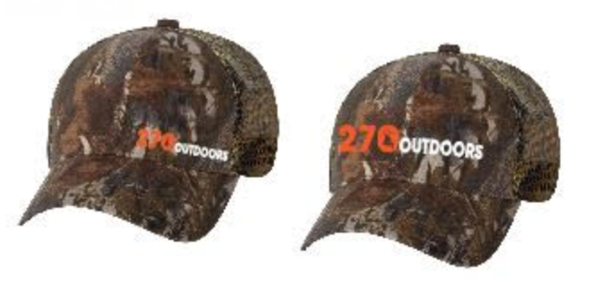 270 Outdoor Camo Hat