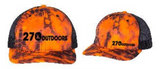 270 Outdoors Orange Richardson Hat