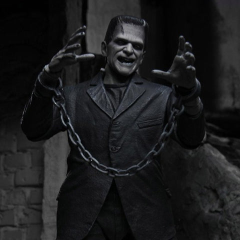 Universal Monsters Ultimate Frankenstein's Monster (Black & White) Figure