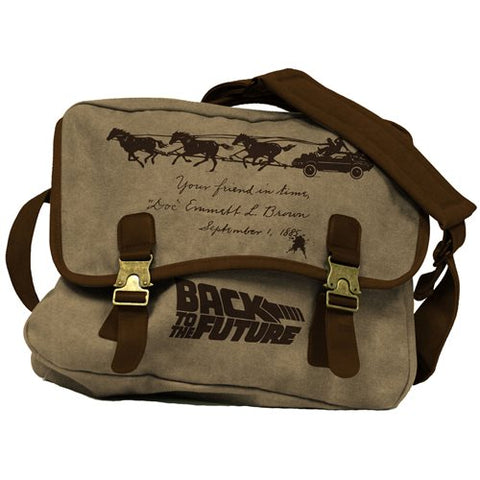 Back to the Future 3 Western Canvas Messenger Bag PV
