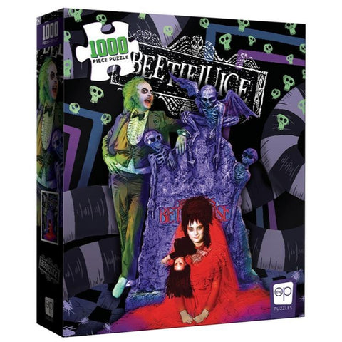 Beetlejuice Graveyard Wedding 1000-Piece Puzzle