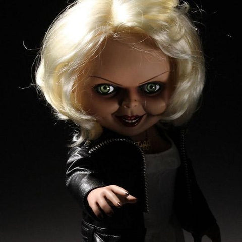 Bride of Chucky Mezco Designer Series Mega Scale Talking Tiffany
