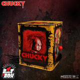 Bride of Chucky Burst-A-Box Chucky Mezco