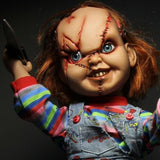 Child's Play Mega Scale Talking Scarred Chucky