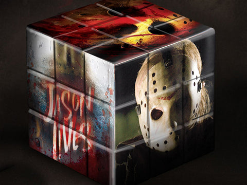 Friday the 13th 2009 Puzzle Blox Jason Voorhees Mezco