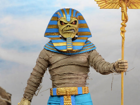 Iron Maiden Pharaoh Eddie Figure Clothed Neca