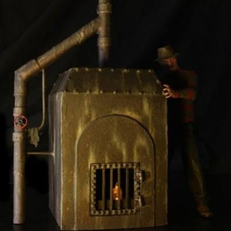 Nightmare on Elm Street Horno Diorama