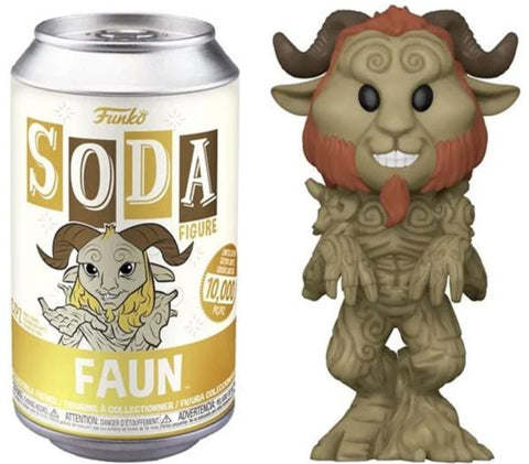 Pan's Labyrinth Vinyl Soda Faun Limited Edition