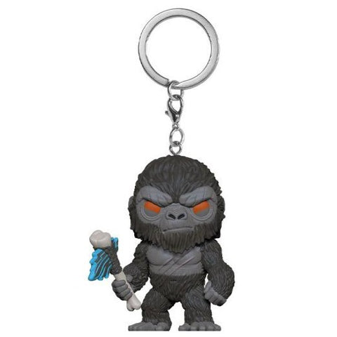Pocket Pop! Keychain Godzilla vs Kong - Kong With Weapon