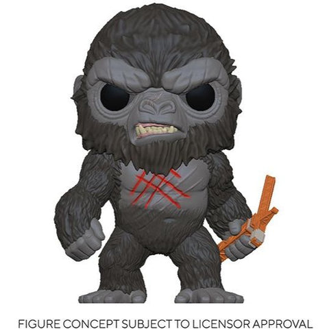 Pop! Movies Godzilla vs. Kong - Battle Scarred Kong PV