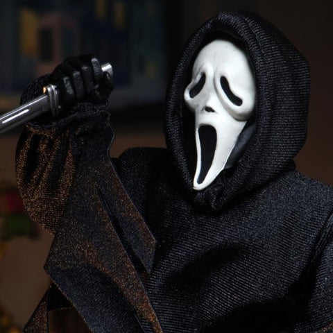 Scream Ghostface Figure Clothed Neca