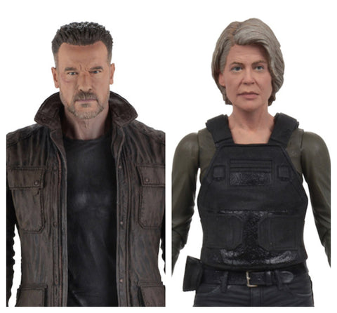 Terminator: Dark Fate T-800 y Sarah Connor Neca