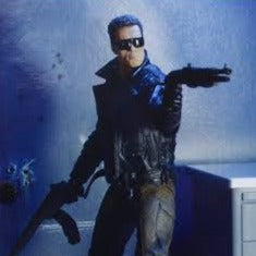 Terminator Ultimate Police Station Assault T-800 Neca