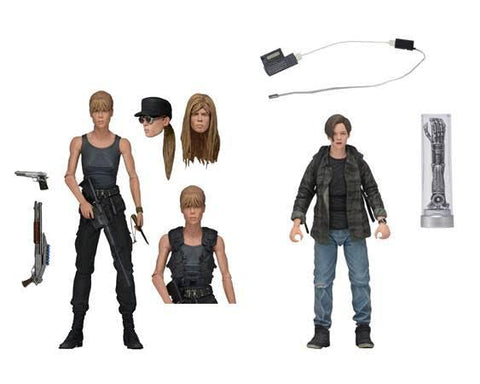 Terminator 2 Ultimate Sarah and John Connor Neca