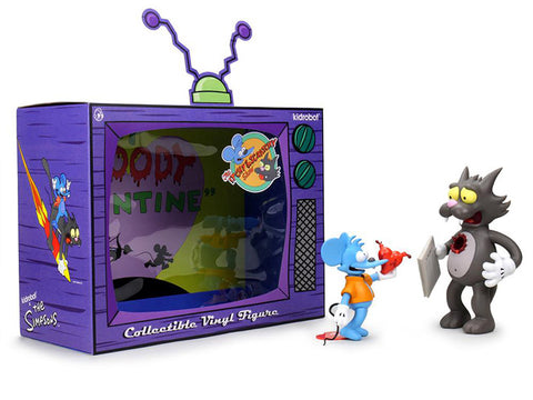 The Simpsons Itchy and Scratchy Figure Set PV