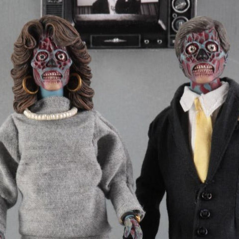 They Live Alien Figure Two-Pack Clothed PV