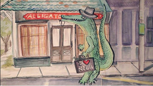 Alligator's in New Orleans!