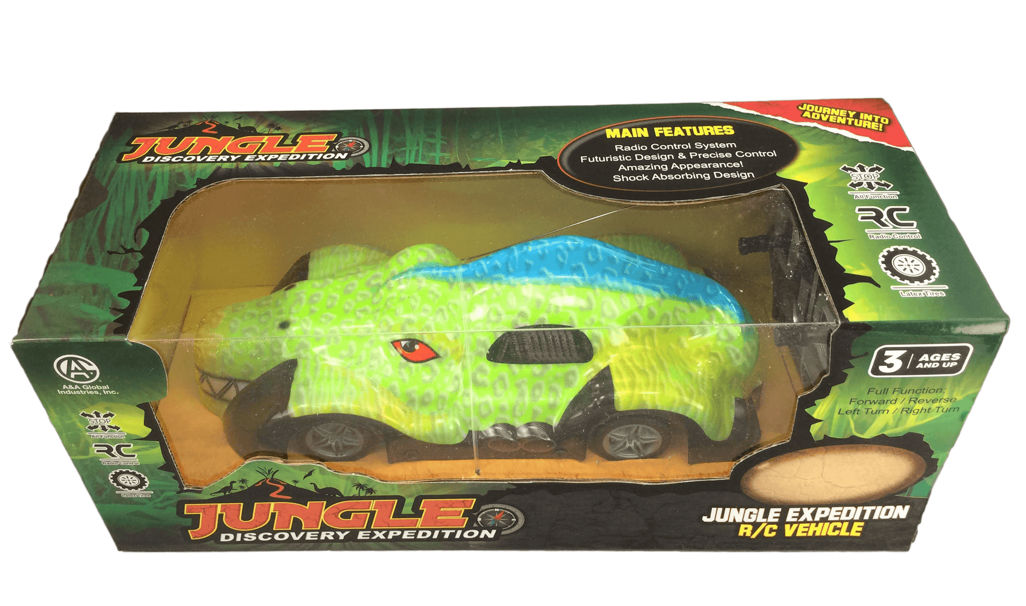 Jungle Discovery Expedition Remote Control Gator Truck