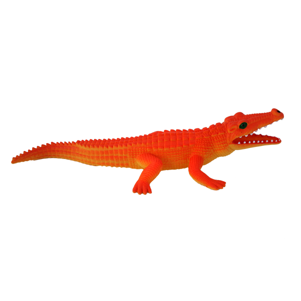 Neon Orange Alligator