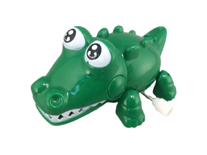 Wind-up walking alligator