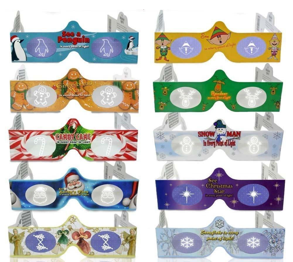 3D Magical Glasses (Pack of 10 )