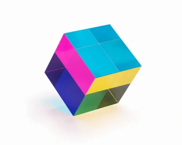 CMY Bright Light Cube
