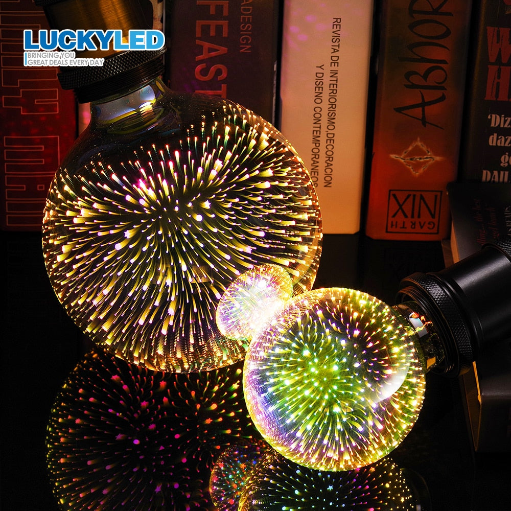 3D Decoration Holiday Lights Bulb