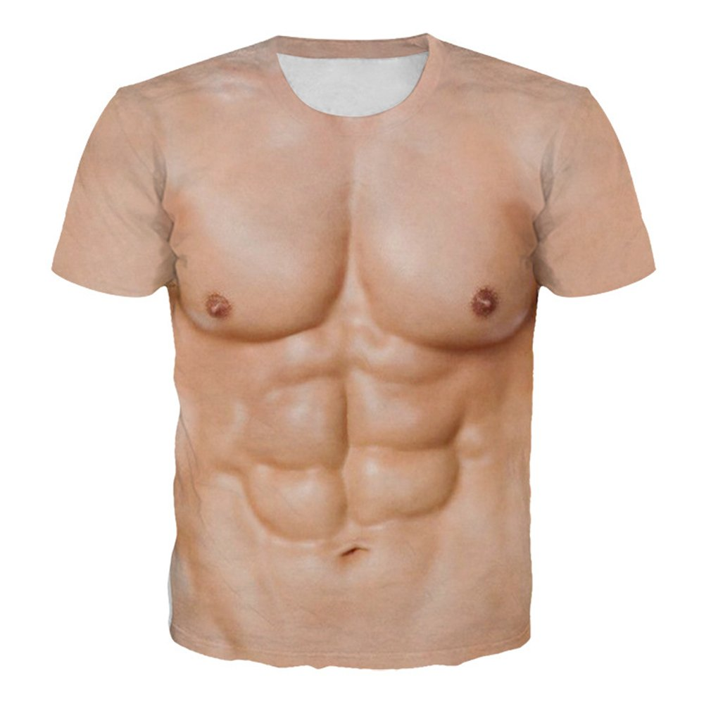 Body Building Muscle Tattoo T-shirt