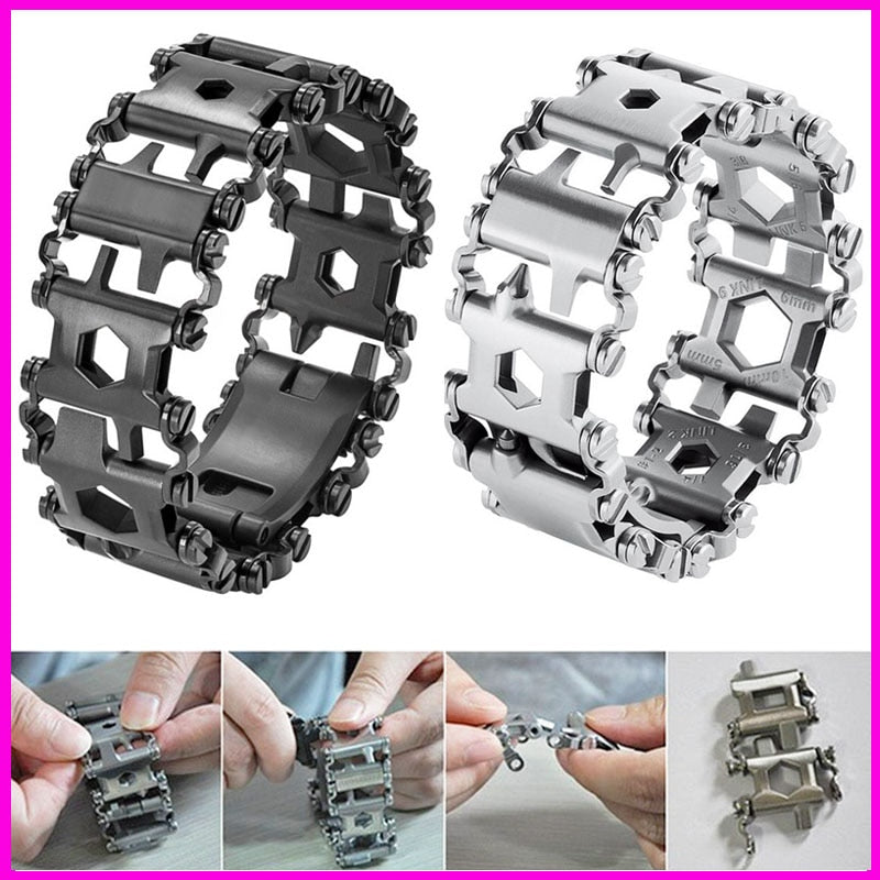 29 in 1 Multifunction Tool Bracelet