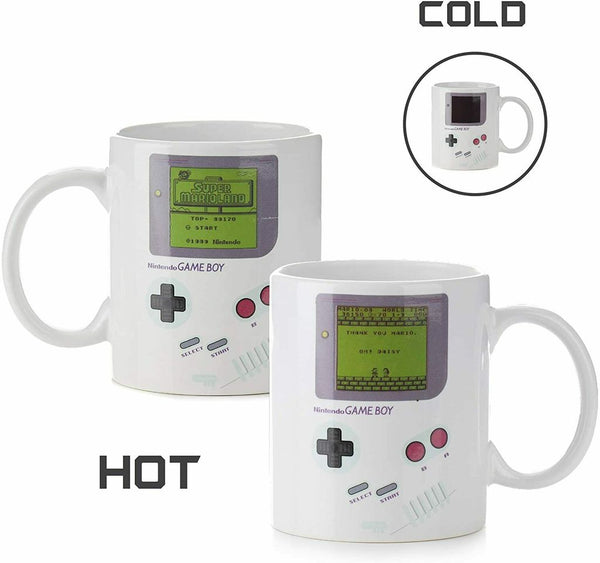 Heat Sensitive Nintendo Game Boy Ceramic Mug