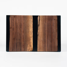 Load image into Gallery viewer, Black Walnut & Resin Charcuterie Board
