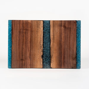 Black Walnut & Resin Charcuterie Board