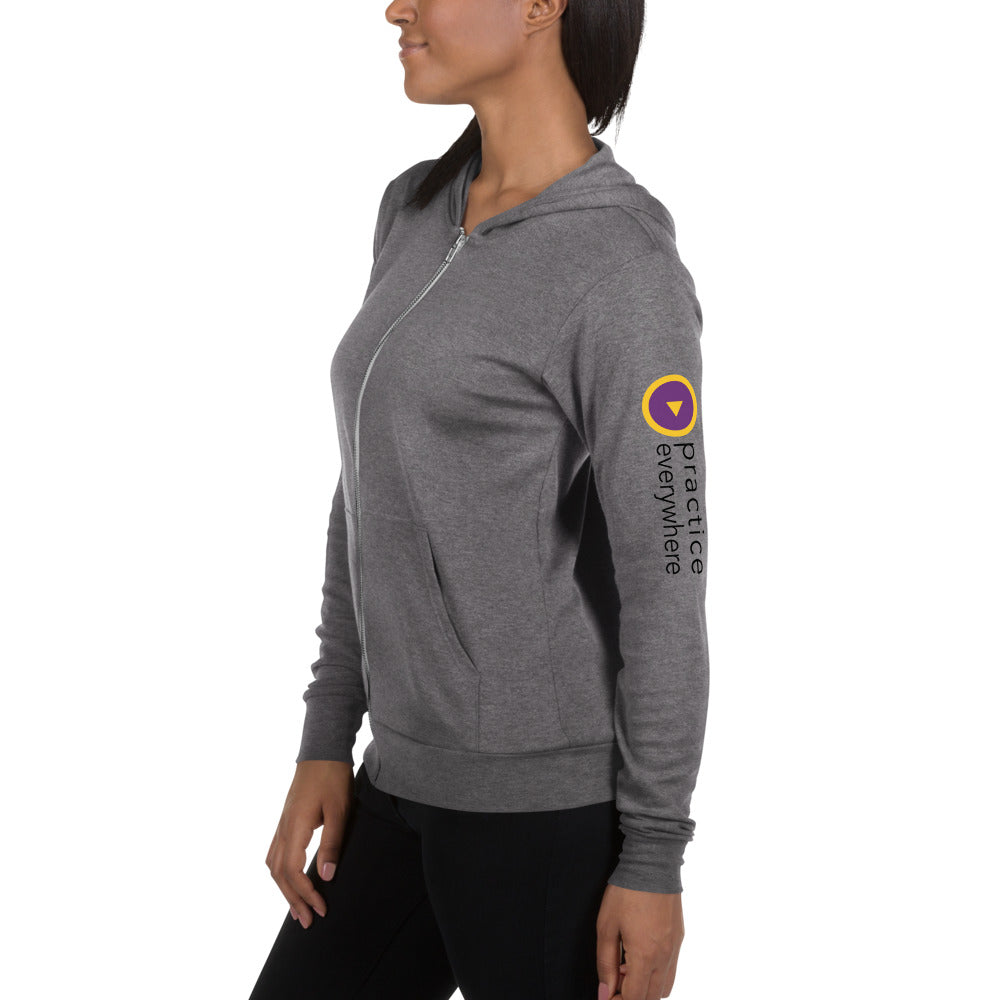Lightweight PE Sleeve Zip Up
