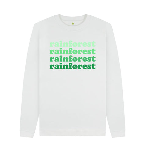 White Rainforest Sweatshirts