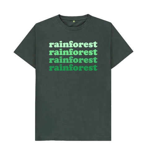 Dark Grey Rainforest T-shirts