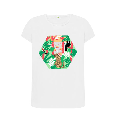 White Keep trees standing Women's T-shirt
