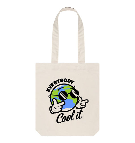 Natural Everybody Cool It Tote Bag